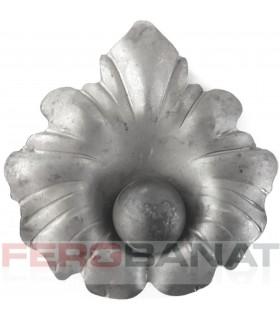 Floare fier forjata F70 tabla rozeta porti garduri