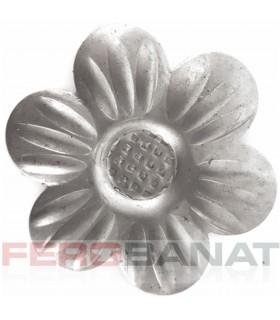 Floare F3 fier forjata tabla rozeta