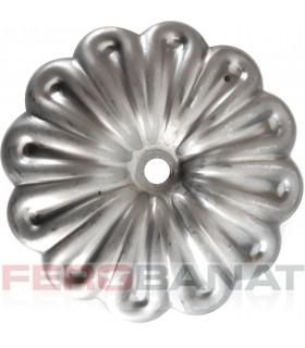 Floare F4 fier forjata tabla rozeta