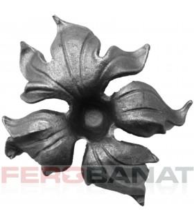 Floare F10 turnata fier forjata rozeta
