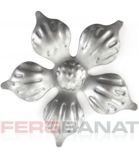 Floare F11 fier forjata tabla rozeta