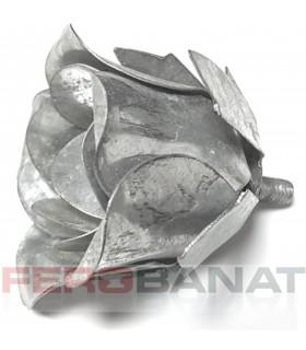 Floare F12 fier forjata tabla rozeta