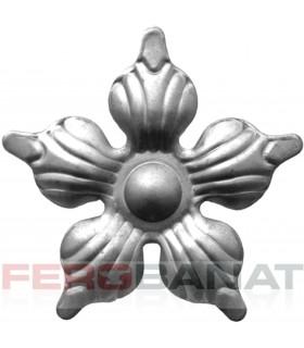 Floare F14 fier forjata tabla rozeta