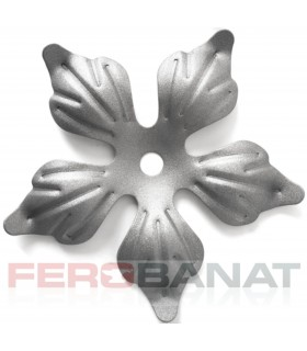 Floare F14g fier forjata tabla rozeta