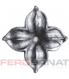 Floare F20 turnata fier forjata rozeta