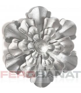 Floare F23 fier forjata tabla rozeta