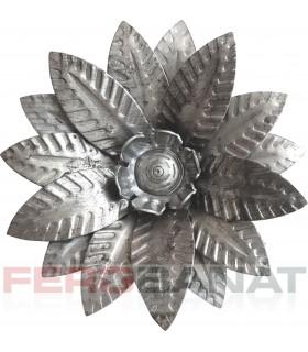 Floare F25 fier forjata tabla rozeta