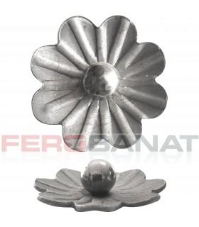 Floare F29 fier forjata tabla rozeta