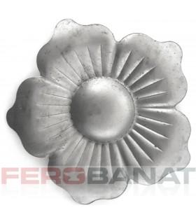 Floare F31 fier forjata tabla rozeta