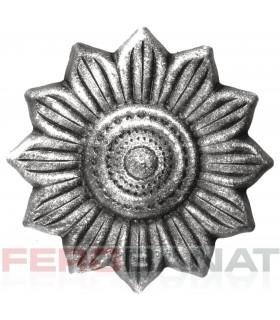 Floare F33 fier forjata tabla rozeta