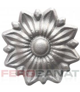 Floare F34 turnata fier forjata rozeta