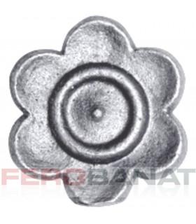 Floare F37 turnata fier forjata F37 rozeta