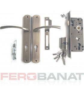 Broasca SM85EC/AA cu butuc manere si silduri cheie incuietoare usa poarta