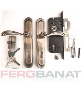 Broasca SM85C/FA cu butuc manere si silduri cheie incuietoare usa poarta