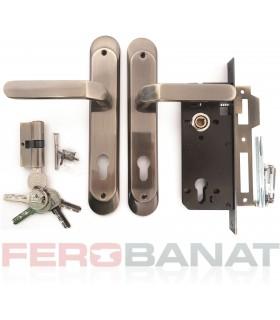 Broasca SM85AC/FA cu butuc manere si silduri cheie incuietoare usa poarta