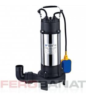 Pompa submersibila drenaj 1100W cu tocator instalatii sanitare apa