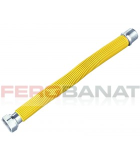 Racorduri gaze FI-FE 3/4 inox flexibile instalatii sanitare curte gradina casa