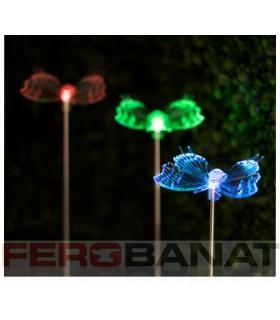 Lampa solara fluture proiector iluminat reflectoare gradina