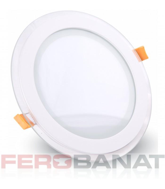Panouri LED rotunde 100mm 6W instalatii electrice si iluminat casa