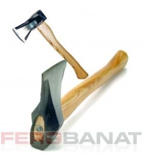 Topoare despicat maner lemn forjate scule unelte