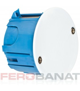 Doza legatura rigips rotunda 65mm derivatie instalatii electrice casa gips carton