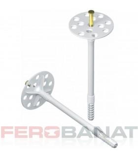Dibluri tija metalica polistiren vata izolatie fatade ventilate tencuiala decorativa