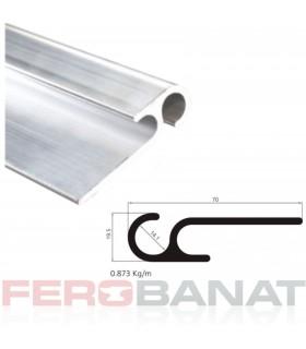 Profil aluminiu rotund