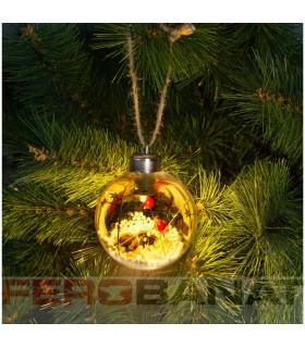 Globuri brad ornamente LED Craciun decoratiuni sarbatori