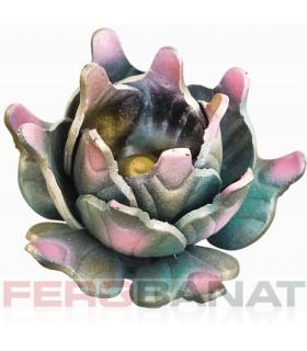 Floare F60 fier forjata tabla rozeta porti garduri