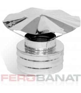 Capace cos ondulat inox interior 200mm exterior 260mm centrala termica ventilatie