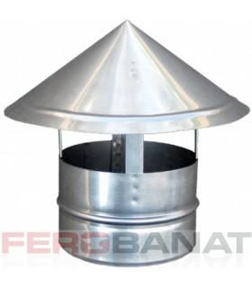 Capace cos palarie zincat 120mm ventilatie acoperisuri casa