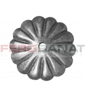 Floare F2 fier forjata tabla rozeta