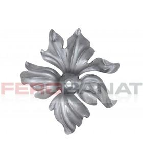 Floare F10 fier forjata tabla rozeta