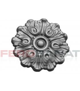 Floare fier forjata F39 tabla rozeta