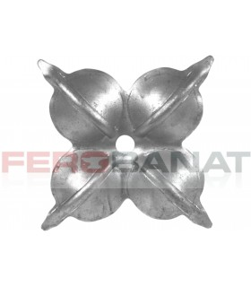 Floare fier forjata F41 tabla rozeta porti garduri