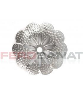 Floare fier forjata F44 tabla rozeta porti garduri