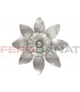 Floare fier forjata F43 tabla rozeta porti garduri