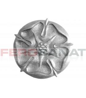 Floare fier forjata F48 turnata rozeta