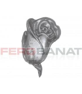 Floare fier forjata F49 turnata rozeta