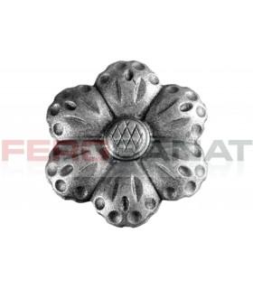Floare fier forjata F50 turnata rozeta