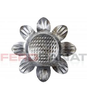 Floare fier forjata F59 tabla rozeta porti garduri