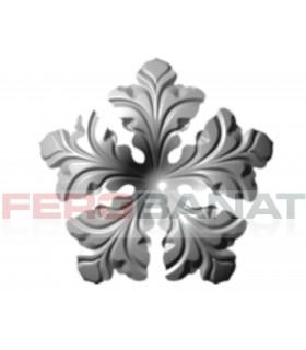 Floare fier forjata F62 tabla rozeta porti garduri