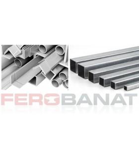 Teava patrata aluminiu bara metal