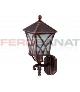 Felinare Alek patinate lampi casa gradina curte terasa electrice
