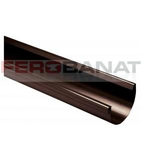 Jgheaburi 125mm tabla zincata vopsita acoperisuri pluviale