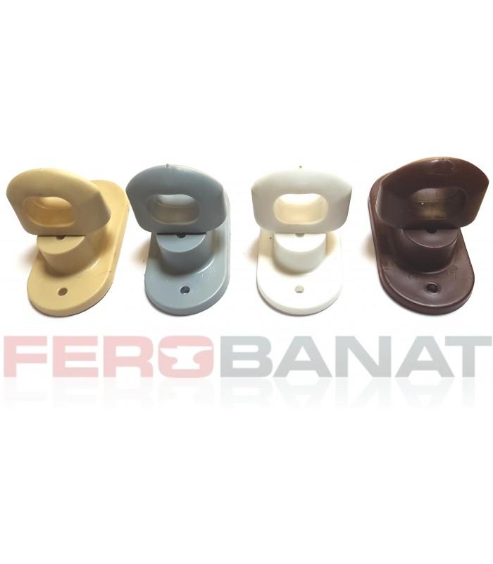 Brida rotativa PVC cu ureche rotunda capse prelate camioane TIR