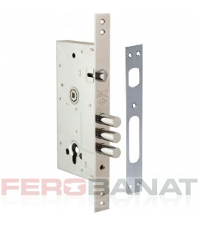 Broasca exterior 85mm usa metalica 252R fara silduri si butuc usa poarta