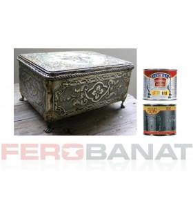 Patina fier forjat vopsea efect auriu argintiu sau cupru