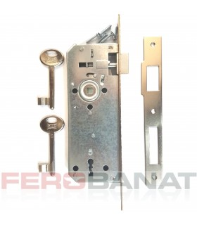 Broasca interior cheie 90mm 151R fara silduri si butuc usa poarta
