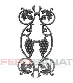 Decorative D8 elemente turnate val grecesc premium din fier forjat balcon balustrada garduri